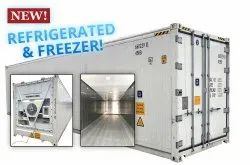 Refrigerated Container On Rent / Lease / Hire