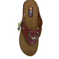 Anand Ladies Casual Wear PU Slipper, Size: 7-11