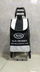 NSE Black 6 Vegetable Shopping Trolley Bag, Model Name/Number: NSE02
