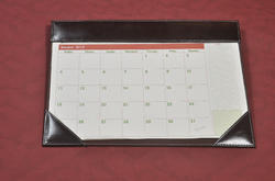 Leather Table Planners