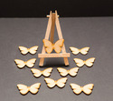 Wooden Scrapbook Butterflies Craft For Decoration