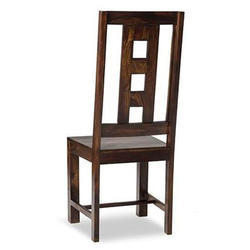 Brown Wooden Romeo Chair, Dimension: 107 x 45 x 45 cm