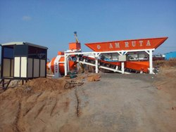 Reversible Drum Concrete Mixer Plant