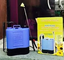 manual backpack disinfectant sprayer