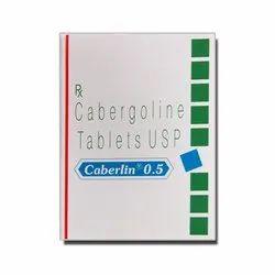 Caberlin 0.5 Tablet Cabergoline (0.5mg)