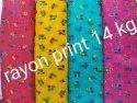 Rayon Print And Plain