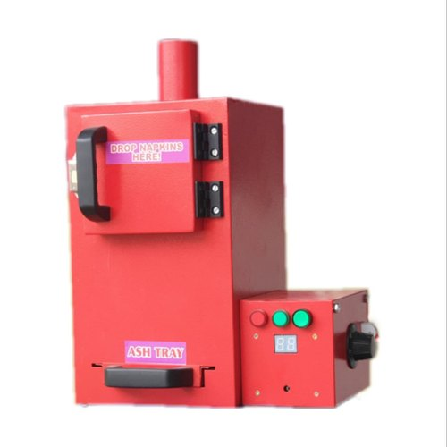 User Friendly Pad Incinerator Machine