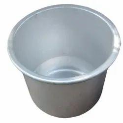 Anodized Aluminium Deep Drawn Pan, Capacity: 3-4 L