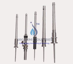 Aluminum Plug Type Spindle For Manual Doffing