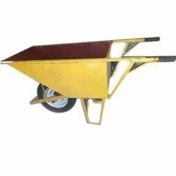 Mild Steel Single Wheel Barrow Trolley