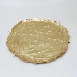 Unique Aluminum Leaf Tray