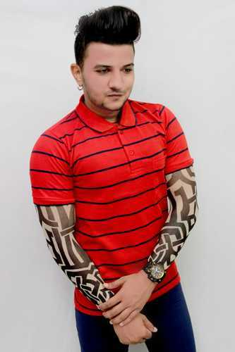 0b9b0950 Mens Polo T Shirts - Collar Neck T Shirt Manufacturer from Surat
