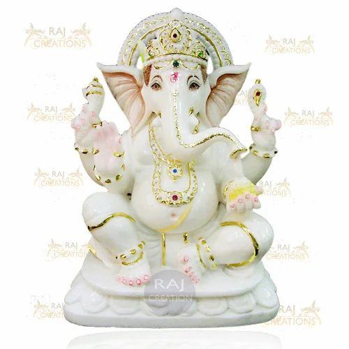Marble Ganesh Statue Marble Ganesha Statue Exporter From Jaipur