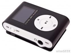 Digital Mp3 Player Black