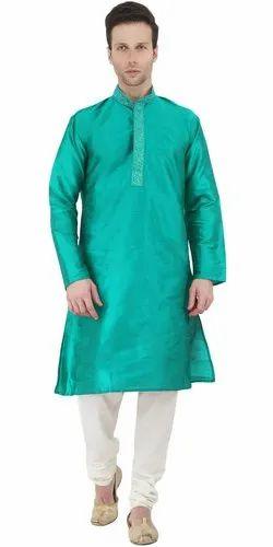 a52cf6446c8 Kurta Pajama Collection Clothing Long Sleeve Button Down Shirt Green Kurta  Pyjama Mens Indian Dress