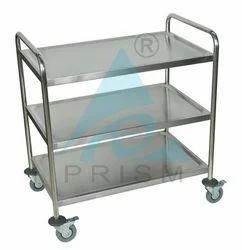 SS Prism Punch Storage Cabinet Trolley