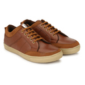 Men Synthetic Leather Casual Canvas Shoes, Packaging: Box