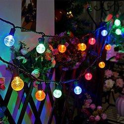 Hardoll Solar String Decorative Lights or Serial or Rice light for Diwali decoraions