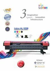 Automatic Cmyk Lotus AL-3208 Using KM-512 Normal Flex Printing Machine