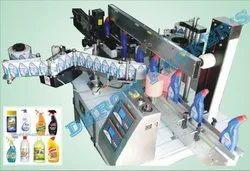 Hand Sanitizer Flat bottle Labeling Machine