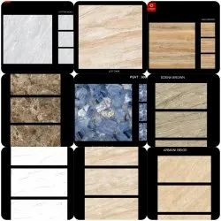 Glossy Ceramic Tiles, Thickness: 10-15 mm, for Floor