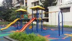 Multi Play Station Playground Equipment
