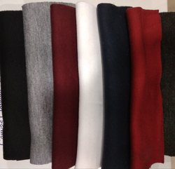 Solid Foma Fleece Multi-color Fabrics