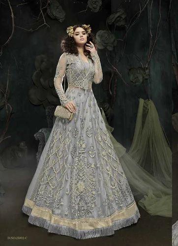 1fb5d54999 Georgette Zoya Designer Heavy Work Bridal Anarkali Salwar Suit, Rs ...