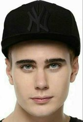 NY Black Hip Hop Cotton Cap