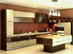 Modular Kitchen - Acrylic Modular Kitchen Manufacturer from
