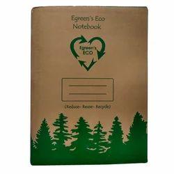 E Green Eco Paper Notebook