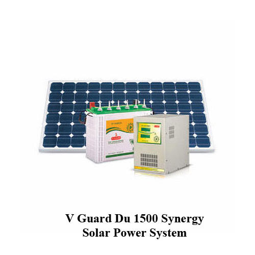 V Guard Du 1500 Synergy Solar Power System At Rs 165000 Unit Adoor Pathanamthitta Id 13817722662