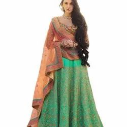 Beautiful Designer Lahenga Choli With Blouse Party Wear