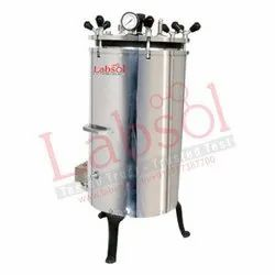 Manual Vertical Autoclave