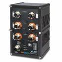 IGS-604HPT-M12 Managed Gigabit Ethernet Switch