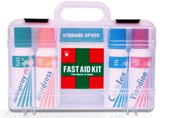 Box A Fast Aid Kit - Midas-Care, Packaging Type: Bag