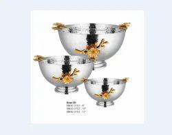 Hammered Bowl 3D