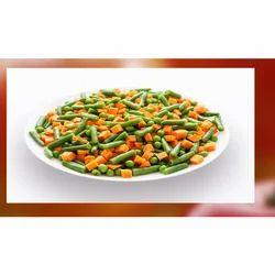 Natural Color Frozen Cut Vegetable, Packet,Plastic Box, Packaging Size: 5,10 Kg