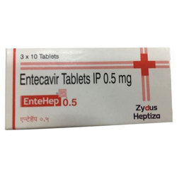 Zydus Heptiza Entecavir Tablets IP, 3x10 Tablets