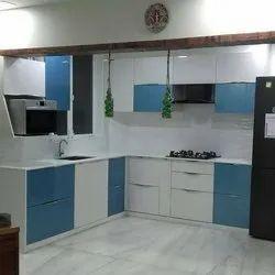 Stainless Steel Modular Kitchen Cabinet