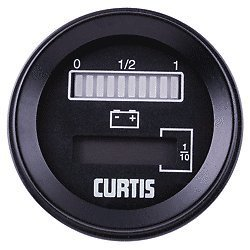 Curtis Battery Discharge Indicator