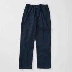 Dark Blue Cotton School Uniform Pant, Size: 22-42