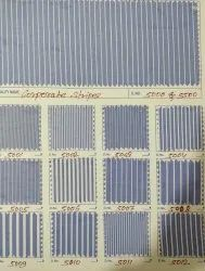 Cotton/Linen Formal Corporate Stripes Shirting Fabric, For Garments, 100