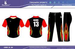 Cricket Club Team Shirt