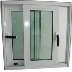 Toughened Hinged Aluminium Sliding Window