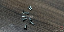 No. 2365 Mild Steel Eyelets Nickel