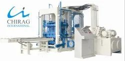 Chirag Integrated Hi-Technology Hollow Block Machine