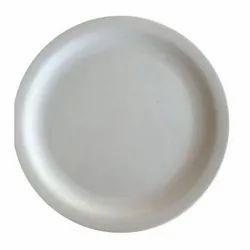 Melamine White Buffet Plate