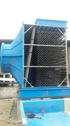 Towertech FRP Cross Flow Cooling Tower V-Bar Based, for Industrial, Cooling Capacity: 500 Kw To 10000 Kw