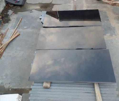 Jet Black Granite Tiles